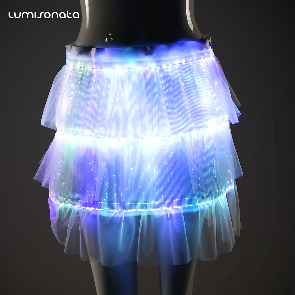Latest Fashion Girls Belly Dance Skirt Led Lights For Clothing Night Club Clothes Led Party Supplies Buy Skirt Belly Dance Skirt Led Party Supplies Product On Alibaba Com