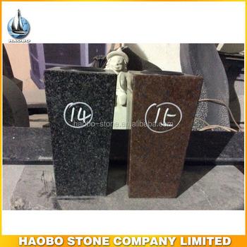 Haobo Stone Cheap Granite Flower Headstone Vases For Graves Buy