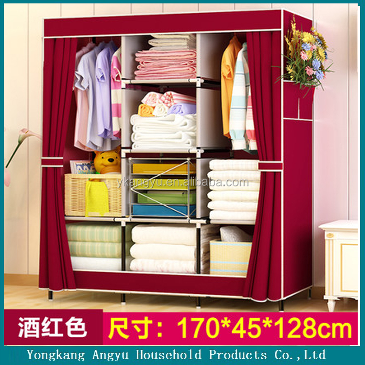 folding fabric laminate bedroom wall wardrobe designs