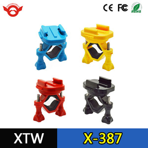 Wholesale for Go pro Accessories 360 Degree Rotate Bike Motorcycle Stand Mount With Mini Tripod for Gopro Hero 5 4 3+ Xiaomi