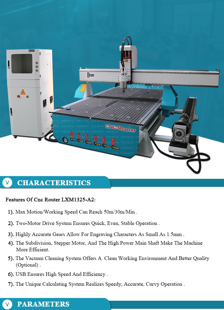 cnc router with ball screw table vacuum pump