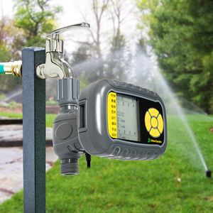 2019 New Electronic Water Timer Automatic Garden Irrigation Program Sprinkler Control