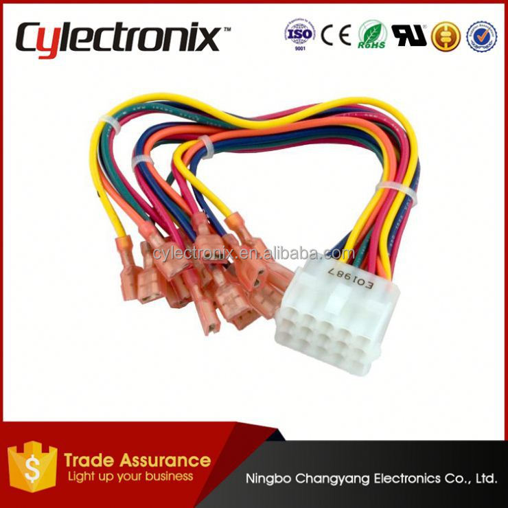 XH 2 54 terminal wire harness PVC wire harness news gm 24 pin female wiring harness 03 silverado wire harness supplies at gsmportal.co