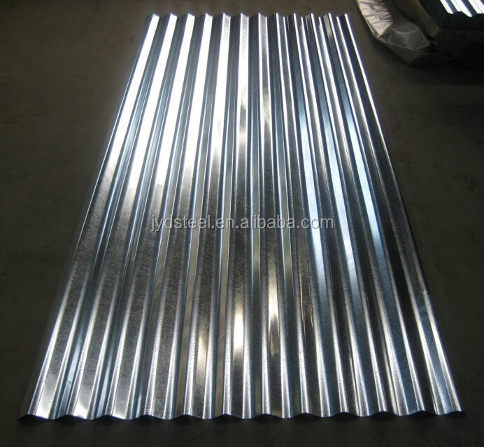 Corrugated Metal Zinc Coated Roofing Sheets Gi Corrugated