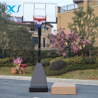 Height Adjustable Portable Basketball System / Stand