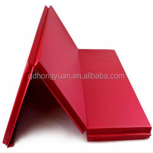 High Density Epe Foam Core Folding Gym Mats Gymnastics