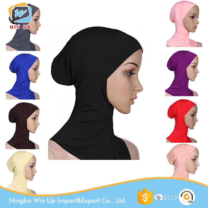 Winup Cheap Knit Kufi Muslim Hijab Cap many colors available