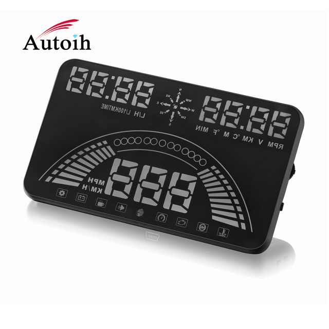 Brand new car head up display obd hud wireless