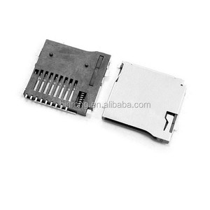 Spring Loaded Push/Push Micro SD Transflash Memory Card Socket Slot