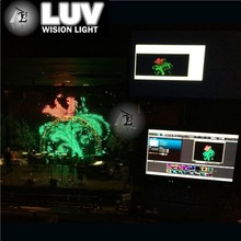 PC version use computer to real time play led display ,led curtain for event backdrop