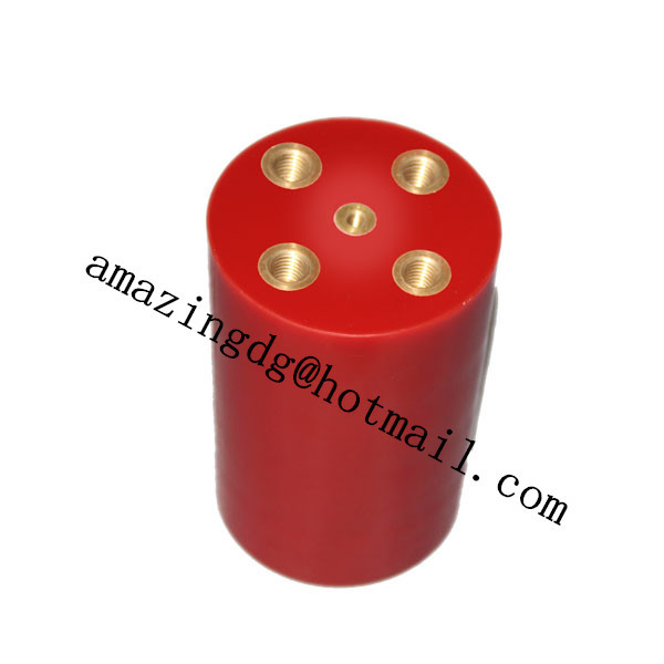 small size capacitor50kv 10000pf high temperture high voltage ceramci capacitor for DC or AC detector