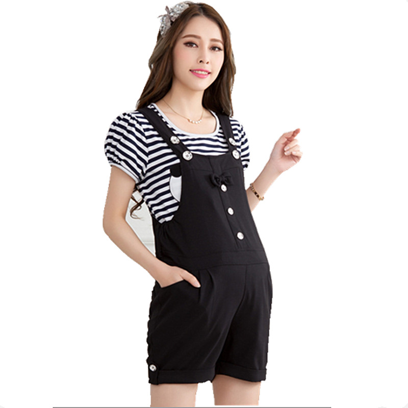 2016 Spring Summer Maternity Overalls Fashion Plus Size Jumpsuit for Pregnant Women Overalls Pants for Pregnancy
