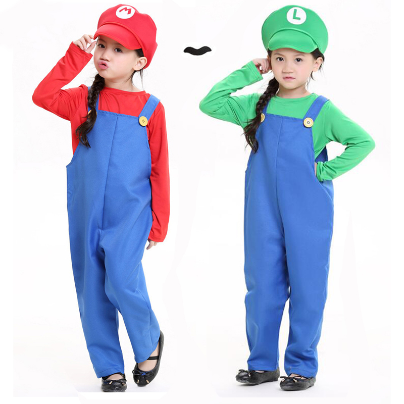 mario and luigi costumes for halloween
