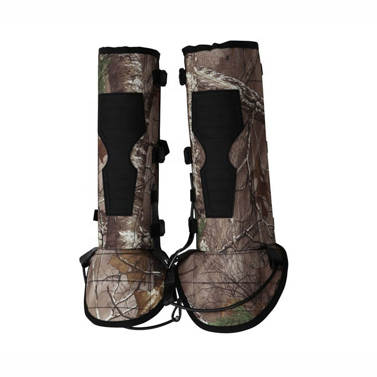 High Quality Durable Adjustable safety Snake Proof Gaiters