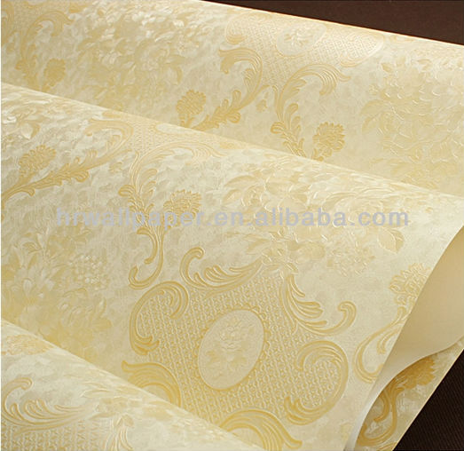 buy stocklot cheap vinyl wallpaper embossed for home/KTV/SPA decoration,six colors