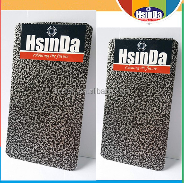 Hsinda Cheap hammer wrinkle finish rough texture paint powder coating