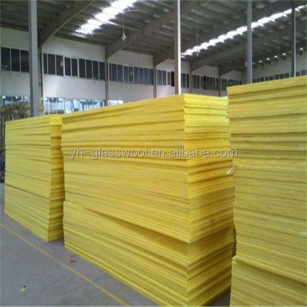 Resin bonded high R-value ce certified glass wool blanket