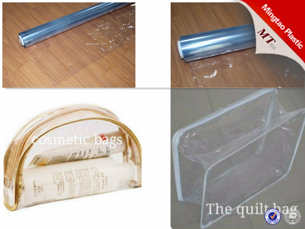 Soft Hardness and Normal Clear PVC FILM For Making Bag