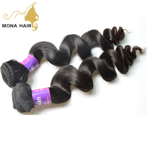 Alibaba stock price top quality Malaysian virgin remy hair extension