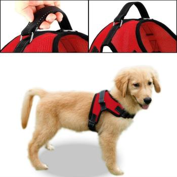 Adjustable Pet Puppy Harness for Small Medium Large Dog Walking Hand Strap Dog Harness
