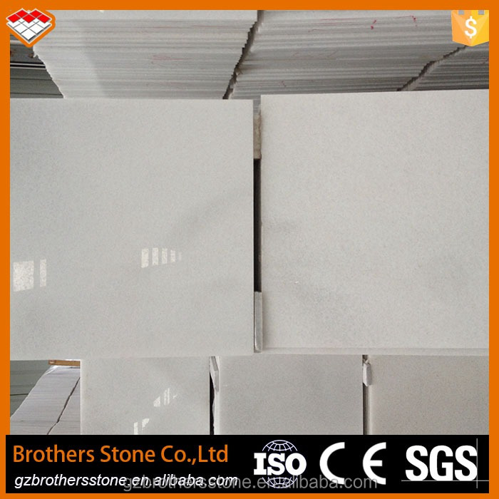 Loma factory sells polished crystal white marble with competitive price