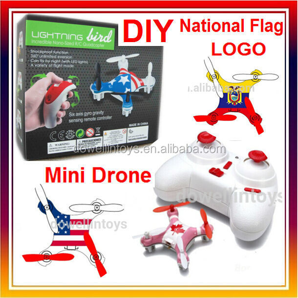 DIY Toys 2.4G 4CH 6Axis Mini Drone With HD Camera