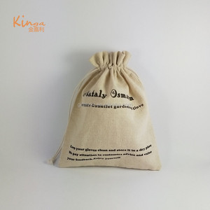 Wholesale cheap custom logo printed small muslin organic cotton canvas bag drawstring