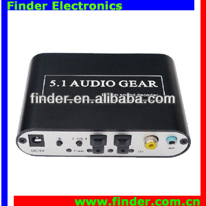 Digital Sound Decoder 5.1 Audio Gear