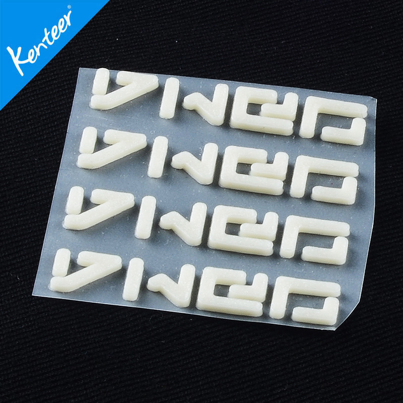 KENTEER screen printing 3D thick silicone rubber heat transfer