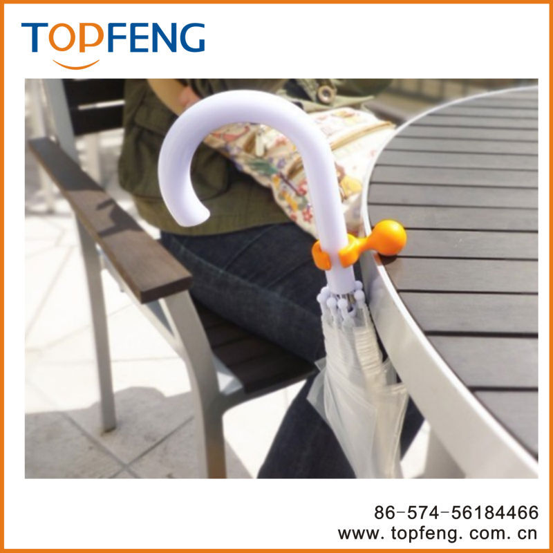 plastic umbrella hanger/ umbrella hook/ umbrella holder