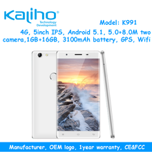 5 inch dual sim card smartphone android 8MP HD camera cell phone low price china mobile phone with quad core