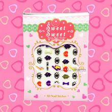 1PC Cute Eye Designs Water Transfer Nail Stickers HCML 001 Children Nail Wraps Decals Guides Stencil