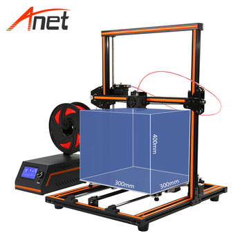 Anet E12 3D Printer DIY Kit Aluminum Frame Multi-language Large Printing Size High Precision 3D Printer