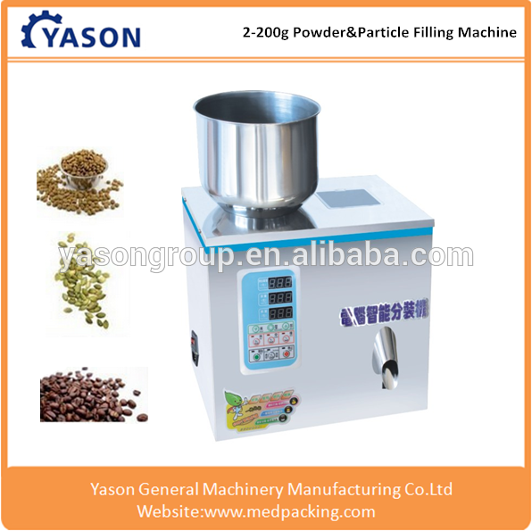 2-200g Automatic particle granule powder bag filling and packing <strong>machine</strong>