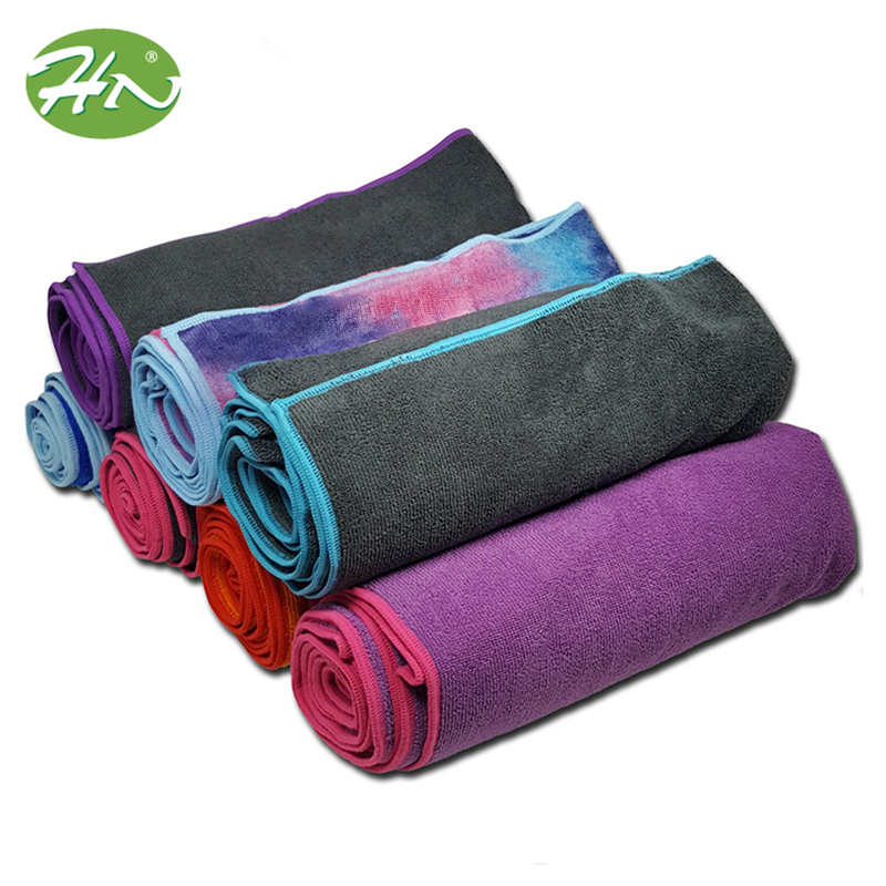 Wholesale Eco Friendly Sport Custom Non Slip Hot Microfiber Yoga Mat <strong>Towel</strong>