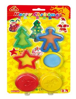 merry christmas 2019 hot sale  EN71 ASTM educational toys for kid DIY modeling dough play dough