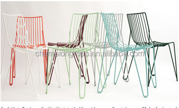 Amazing Colorful Metal Wire Outdoor Dining Chair Buy Metal Wire Dining Chair Colorful Outdoor Dining Chair Metal Wire Dining Chair Product On Alibaba Com Creativecarmelina Interior Chair Design Creativecarmelinacom