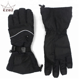 New Arrival Mens Heated Warmest Winter 3M Thinsulate Lined Waterproof Ski Gloves