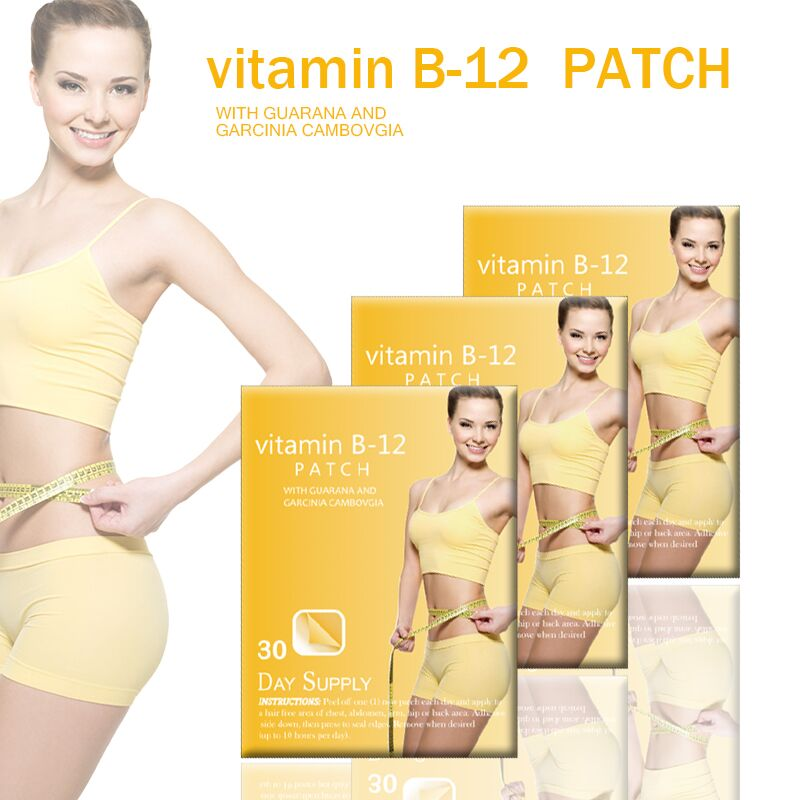 Beauty and health care Wholesale patch garcinia cambogia extract energy slimming patch Vitamin B12 Patch