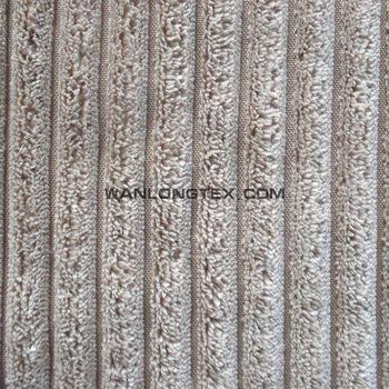 Striped Polyester Velvet Fabric For Sofa Cover Curtain Carpet And Hometextile Buy Velvet
