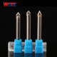 V shape Solid carbide stone milling cutter carbide alloy stone engraving bit