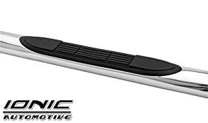 "INB-3721309 - Ionic 3"" Black Stainless Nerf Bars 2010-2016 Dodge 2500/3500 Crew Cab"