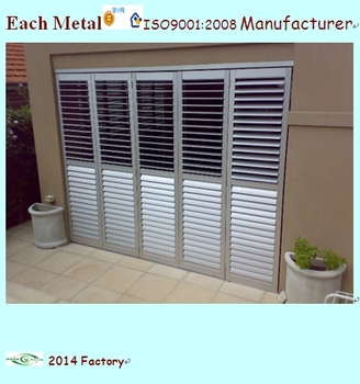Easy Install Exterior Aluminum Shutters Made In China Buy