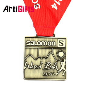 Factory Direct Custom Metal Crafts Running Finisher Medallion Sport Medal