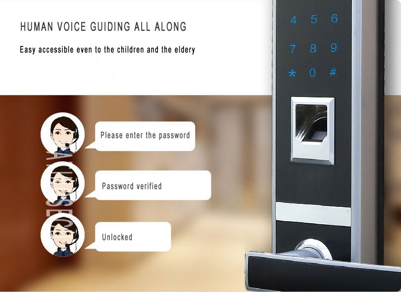 biometric fingerprint remote controller password capacity 4 in 1 glass door lock