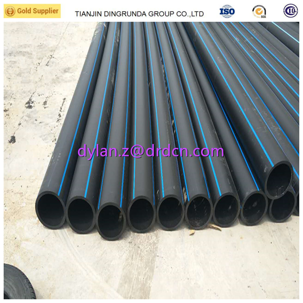 HDPE pe 63 80 100 pipe flexible PE pipe water well pipe