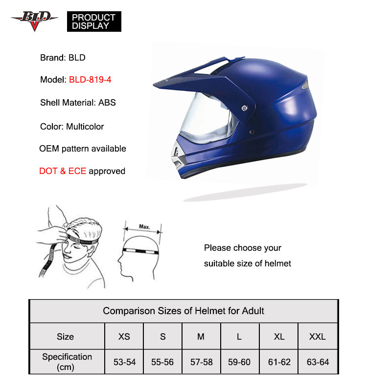 ABS Unique Personalized Colour Free Motorcycle ATV Helmets