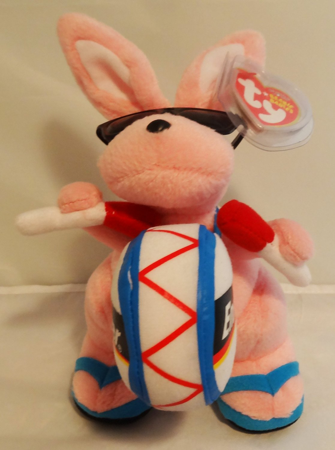 7eaec180d7b Buy TY Beanie Baby - ENERGIZER BUNNY the Bunny (Walgreens Exclusive ...