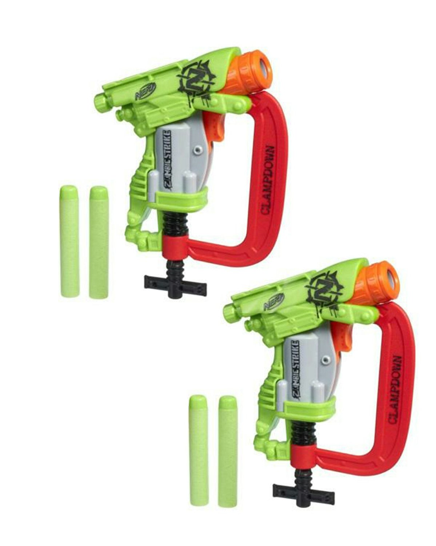 Nerf Zombie Strike Clampdown 2 Pack Duo