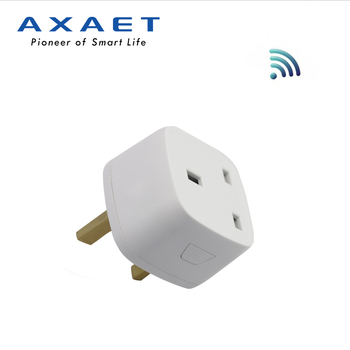 2018 New Design Easy to Setup mini UK standard smart home product wifi smart plug works with alexa and google home